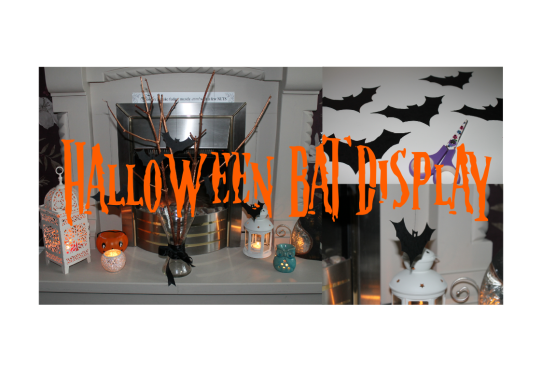 Halloween Bat Display