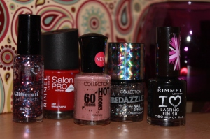 Glitter Nail Collection