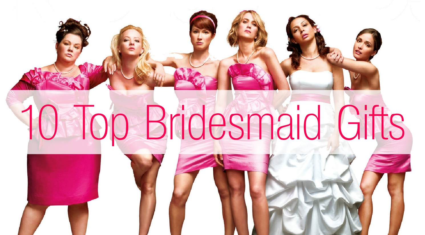 Wedding Present Ideas For Bridesmaids : 10 Top Bridesmaid Gift Ideas? Confetti and Curves