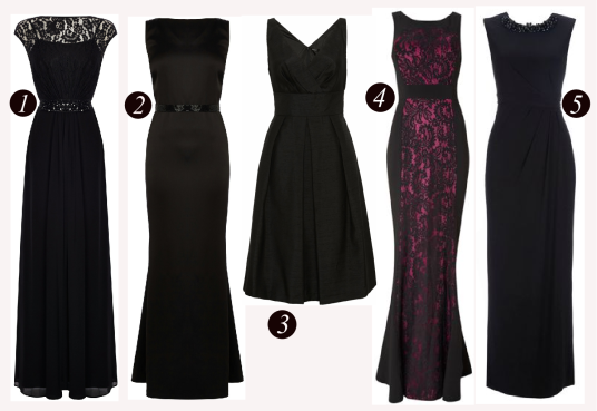 Black Gown Line Up
