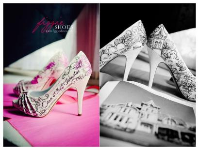 How beautiful are these designs by Figgie Shoes?