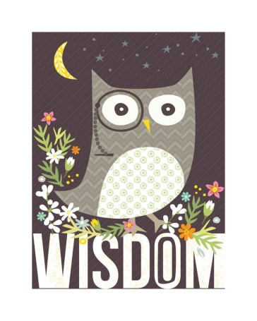 Wisdom by Griffinbell Paper Co