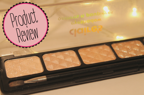 Claires Natural Shimmer Eyeshadow Palette