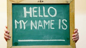 names
