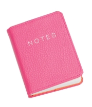 pink notebook
