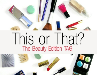 This or That The Beauty Edition TAG