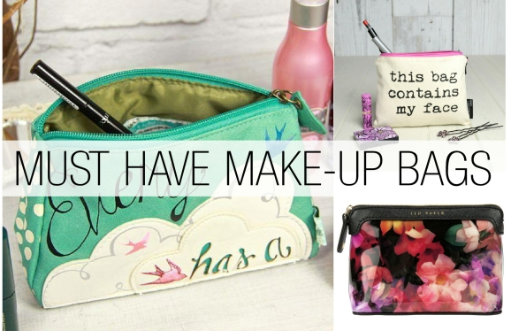 Must Have Make Up Bags