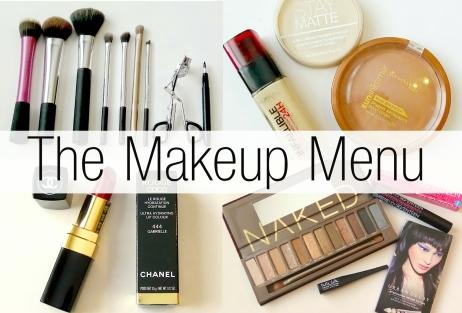 The Makeup Menu