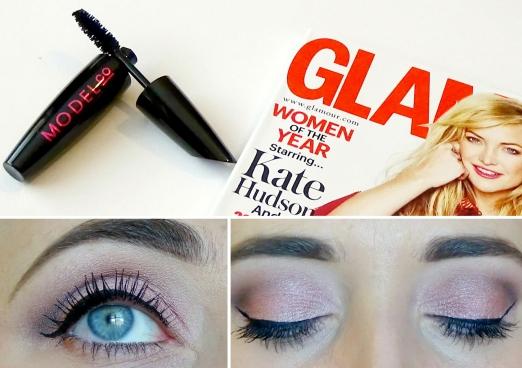 Model Mascara Glamour Magazine