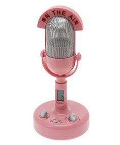 pink mic