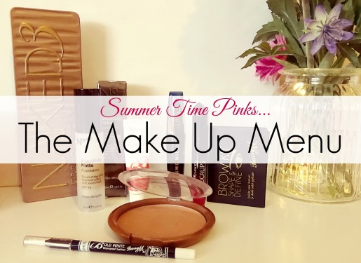 Summer Time Pinks Makeup Menu