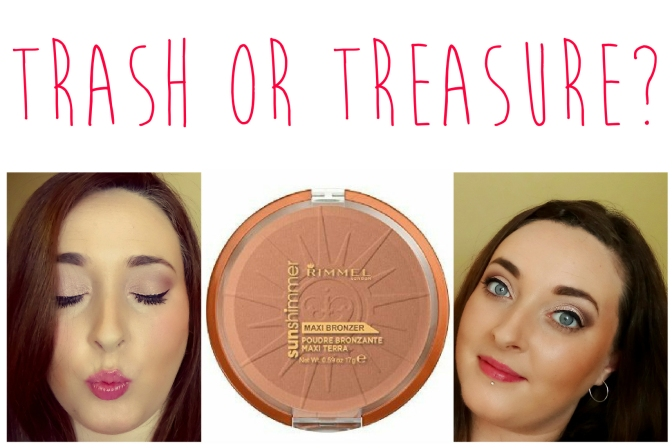 Trash or Treasure Rimmel Bronzer