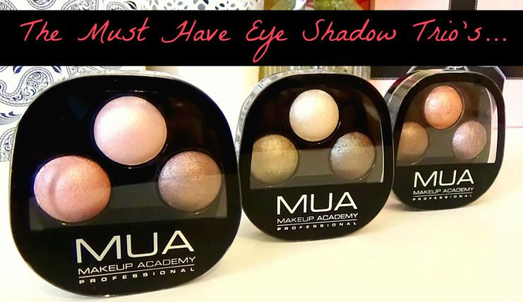 MUA eye shadow swatch and review