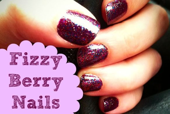 Blackberry Coloured Nails