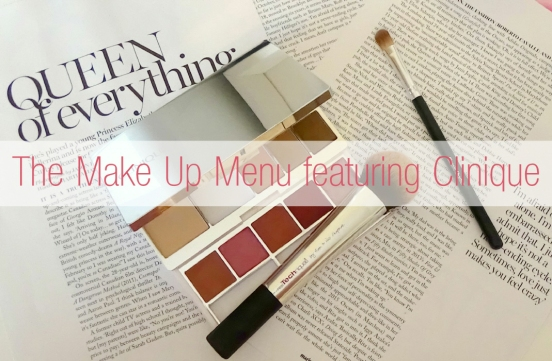 Clinique Make Up Menu Main