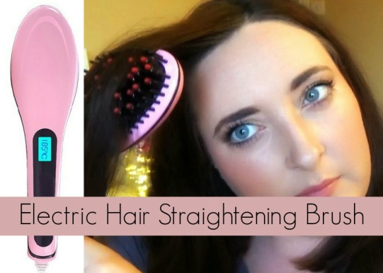 Beautiful Star Electric Hair Straightening Brush