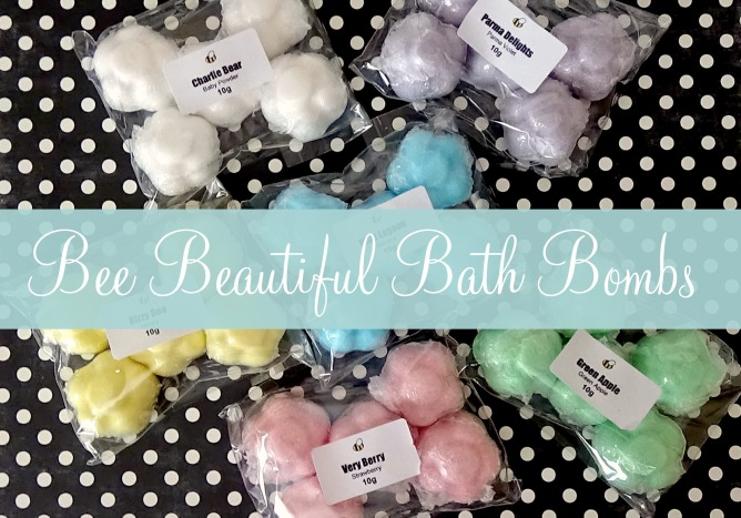 Bee Beautiful Bath Bombs pic