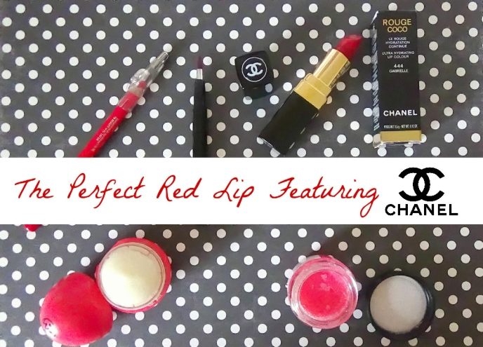 Chanel Red Lip