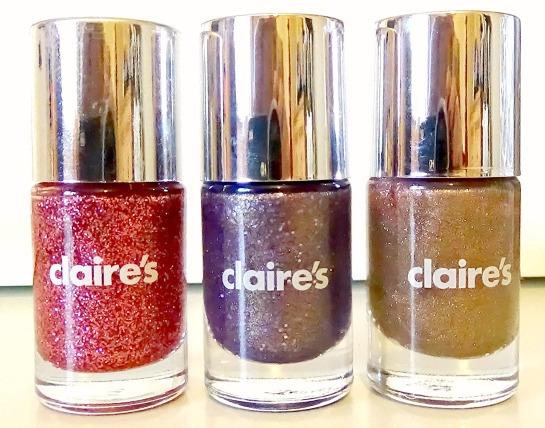 Claires Nail polish