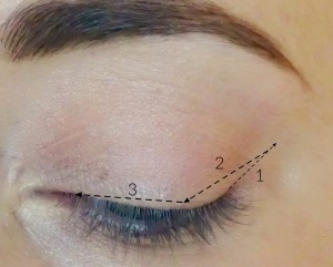 Liquid Eye Liner Step by Step