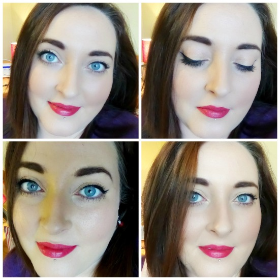 Red Lip Collage