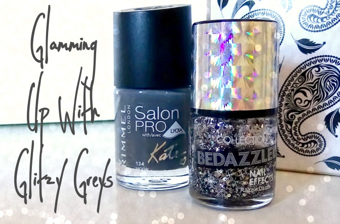 Rimmel Salon Pro Moon and Collection Bedazzled Nail Polish Razzle Dazzle
