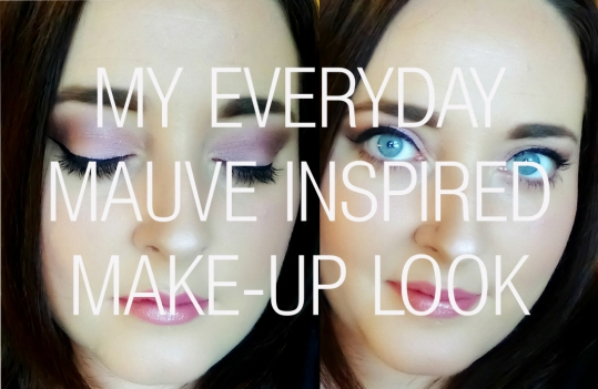 Everyday Mauve Inspired Make Up Look