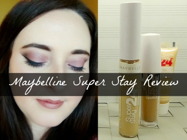 Maybelline Super Stay Review a