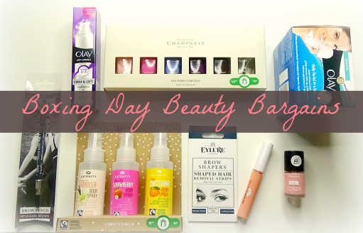 Boxing Day Beauty Bargains
