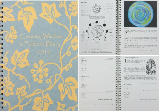 Country Wisdom and Folklore Diary