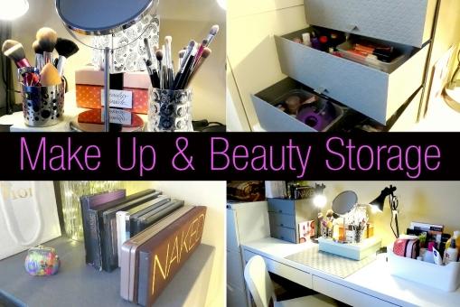 Make Up and Beauty Storage
