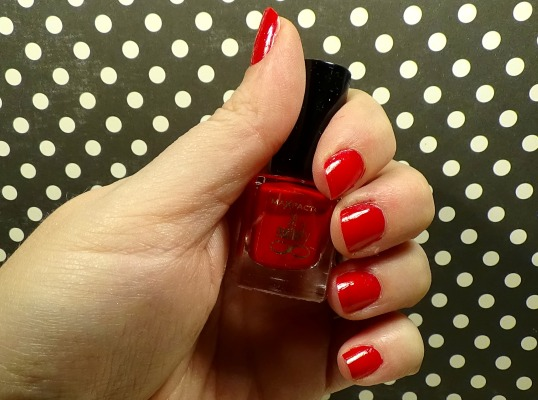 Max Factor Nailfinity Red Passion Review