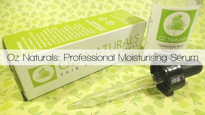 Oz Naturals Professional Moisturising Serum with Hyaluronic Acid