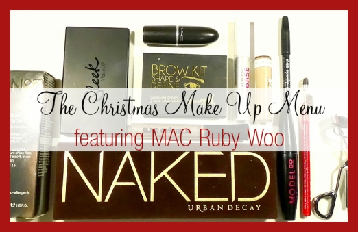 The Make Up Menu Feeling Festive 1