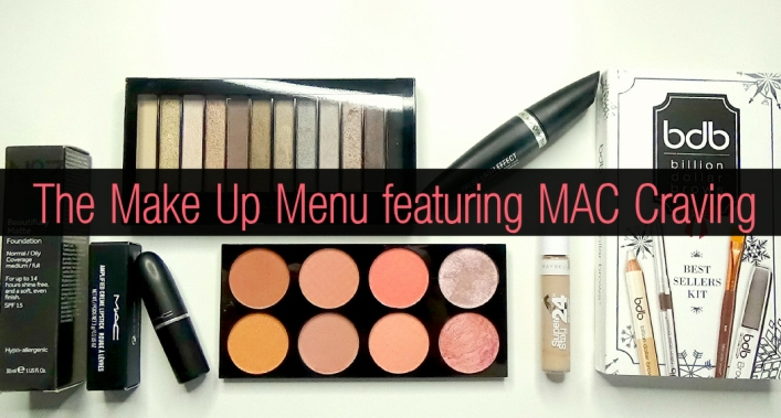 The Makeup Menu featuring MAC Craving Lipstick