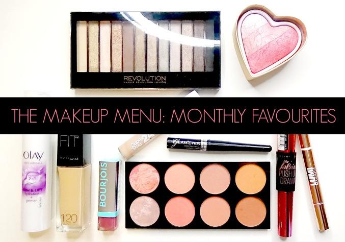 The Makeup Menu Monthly Favourites