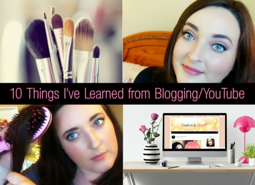 Things I've Learned from Blogging and YouTube