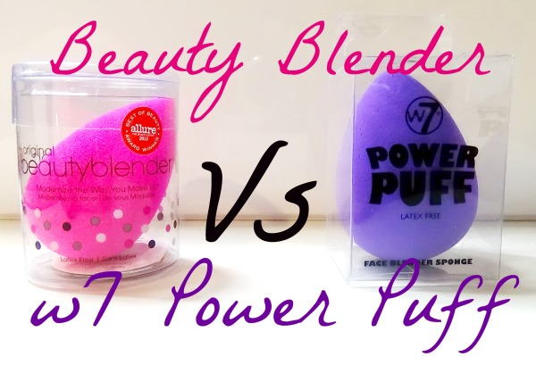 Beauty Blender Versus W7 Power Puff