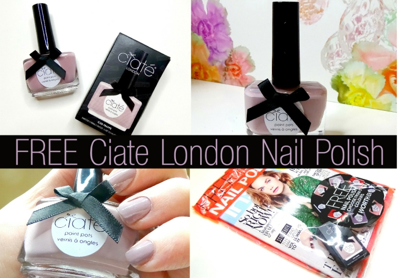 Free Ciate London Nail Polish Instyle