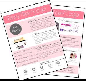 Media Kit Example