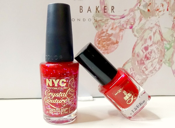 NYC Crystal Couture and Max Factor Nailfinity