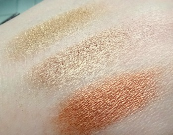 Ted Baker Shadow Swatches
