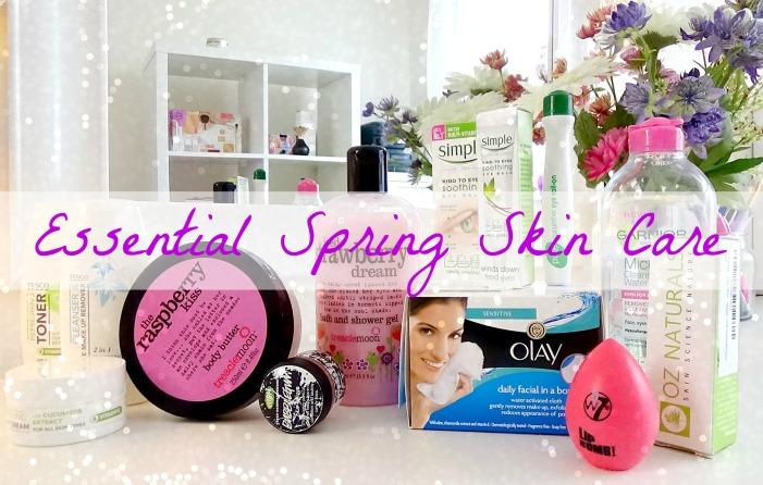 Essential Spring Skin Care