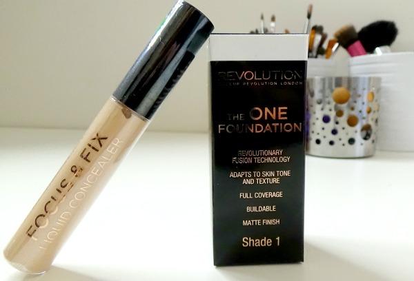 Makeup Revolution - face makeup haul