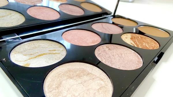 Makeup Revolution - Golden Sugar Blush Palette