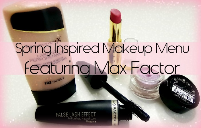 Max Factor Spring Inspired Makeup