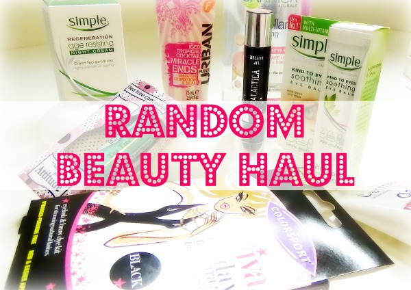 Random Beauty Haul