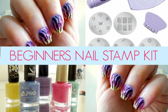 Beginners Nail Stamping Kit
