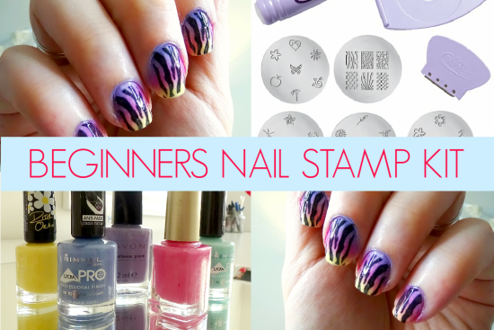 Beginners Nail Stamping Kit