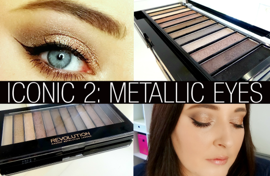 Makeup Revolution Redemption Iconic 2 Eye Shadow Palette
